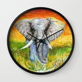 Never Forget Hope Wall Clock