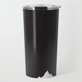 Mountain Sky Night Travel Mug