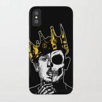 kendrick lamar iPhone & iPod Cases featuring King Kendrick by zombieCraig by zombieCraig
