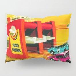 Vintage Hot Wheels Redline Dual-Lane Rod Runner Racing Poster Trade Print Pillow Sham