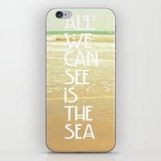 The Sea iPhone & iPod Skin