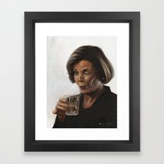 Arrested Development Lucille Bluth Framed Art Print