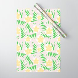 21 Tropical Soft Flowers Wrapping Paper