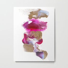Eloise Abstract Painting Metal Print