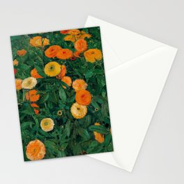 Koloman Moser Marigolds Stationery Cards