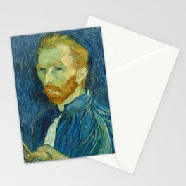 Vincent van Gogh - Self Portrait Stationery Cards
