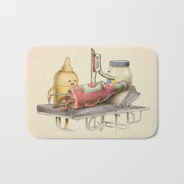 Emergency Transfusion  Bath Mat