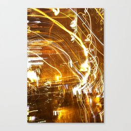 Hazy nights Canvas Print