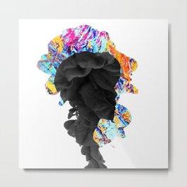BTS - Jimin Smoke Effect Metal Print