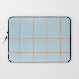 light blue open weave Laptop Sleeve