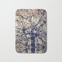Colorful tree loves you and me. Bath Mat