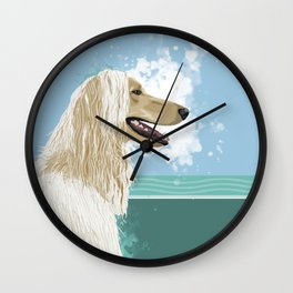 A is for Afghan Wall Clock