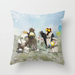 Can I be someone else? Throw Pillow