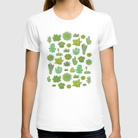 succulents T-shirts featuring Succulents by Anna Alekseeva kostolom3000