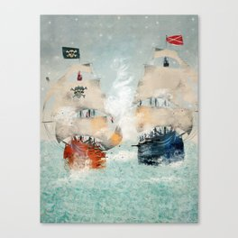 the pirate ship Canvas Print