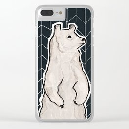 left alone. Clear iPhone Case
