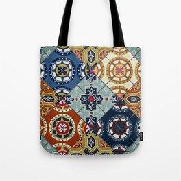 DESEO spanish tiles Tote Bag