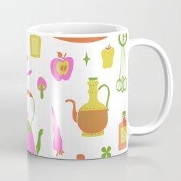 Kitschy Kitchen in Neon Coffee Mug