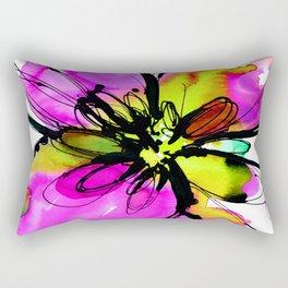 Ecstasy Bloom No.17e by Kathy Morton Stanion Rectangular Pillow