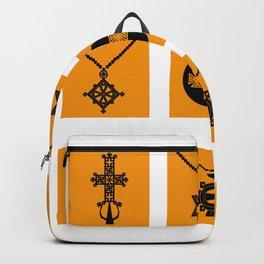 Ethiopian Orthodox Cross Backpack