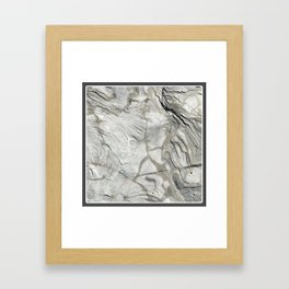 Bay of Fundy Rock No.1 | Texture | Nadia Bonello | Canada Framed Art Print