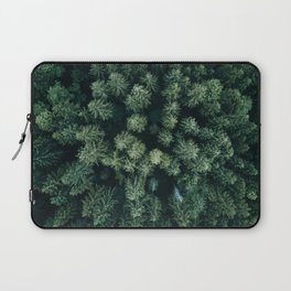 Forest from above - Landscape Photography Laptop Sleeve