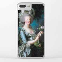Marie-Antoinette Clear iPhone Case