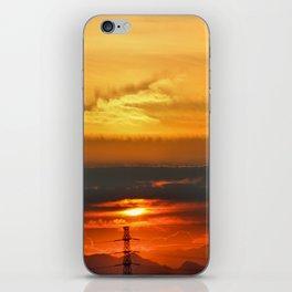 Sunset Horizon iPhone Skin