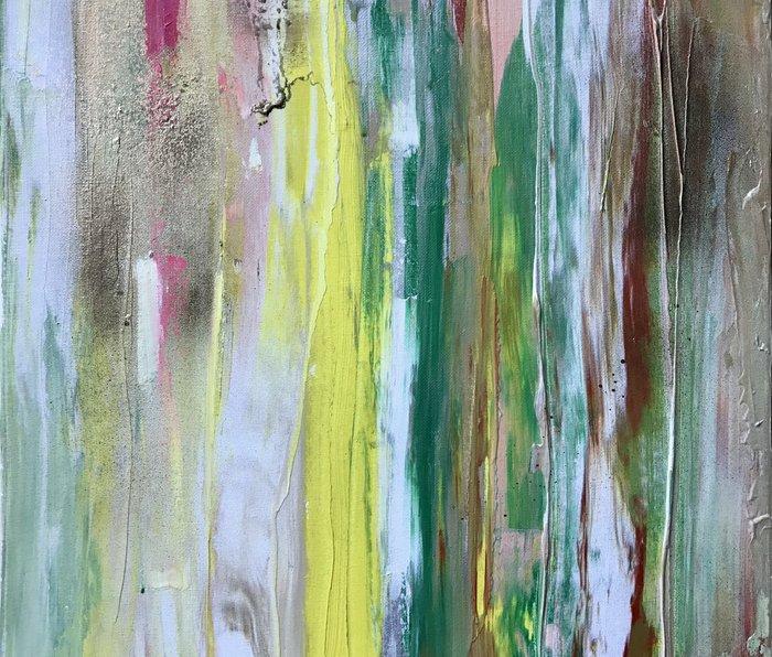 Abstract Painting #2 Metal Travel Mug