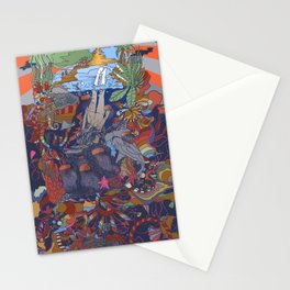 Dive into the Unknown Stationery Cards