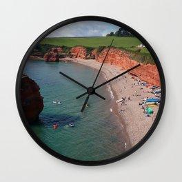Ladram Bay Jurassic Coast Devon UK Wall Clock