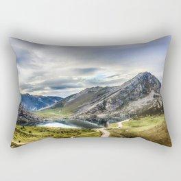 Enol, the Lakes of Covadonga Rectangular Pillow