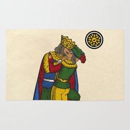 The Kiss (Neapolitan cards) Rug
