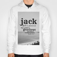 jack Hoodies featuring Jack by KimberosePhotography