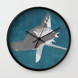 Keep Swimming Wall Clock