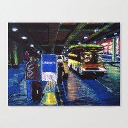 Limousines Canvas Print
