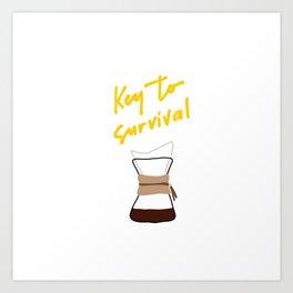 Coffee - Chemex Art Print