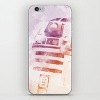 r2d2 iPhone & iPod Skins featuring R2D2 by eARTh