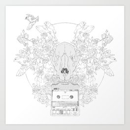 Fast-F  Art Print