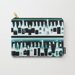 Wine Bottles - version 2 #decor #buyart #society6 Carry-All Pouch