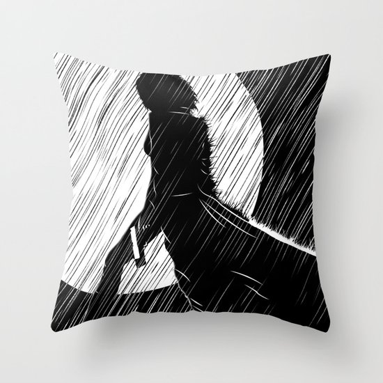Death dealer Throw Pillow