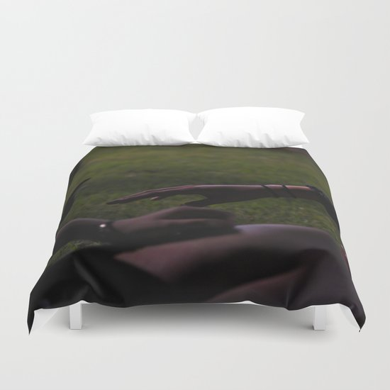 Want to be Friends? Duvet Cover