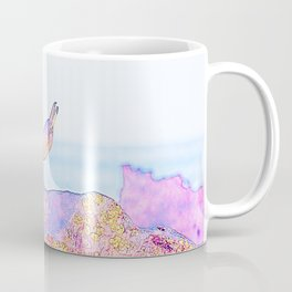 Galapagos Penguin Yoga Vision Coffee Mug