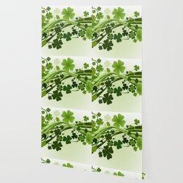 Tréboles de la suerte Wallpaper
