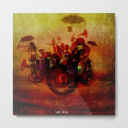 The delirious orchestra  Metal Print