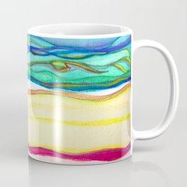 gradient stripes Coffee Mug