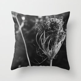 We Huddled Together for Warmth Throw Pillow