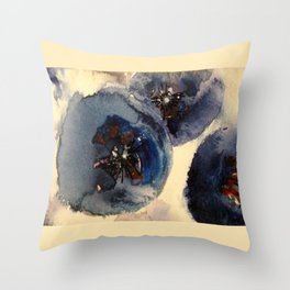 Bluberries Throw Pillow