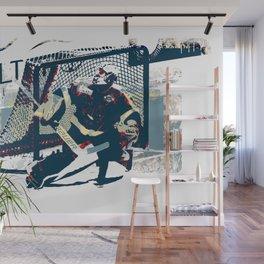Goalie - Ice Hockey Player Wall Mural
