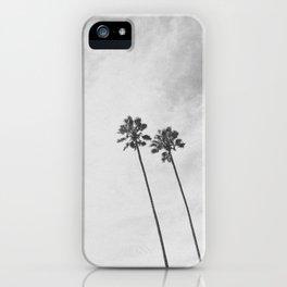 PALM TREES II / San Mateo, California iPhone Case